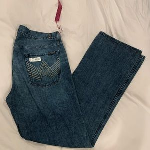 """7 for all mankind """"A"""" pkt bootcut jeans size36 NWT"""